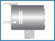 étape 1 assemblage canalisation fonte