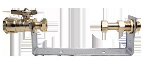 Rails équipés de robinetterie avant compteur HUOT 9635